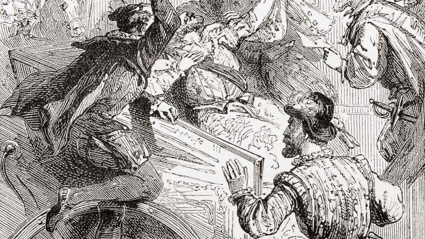 Henry IV est assassiné par Ravaillac