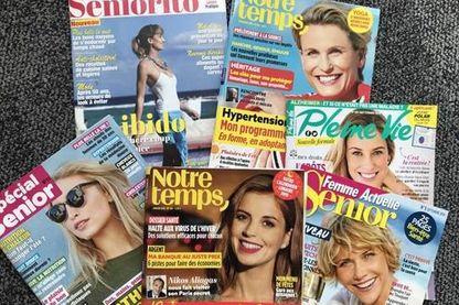 Couvertures de magazines pour les seniors