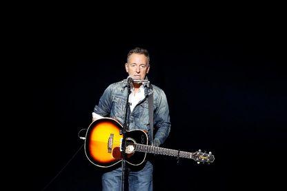Bruce Springsteen (ici sur une scène new-yorkaise en novembre 2018)
