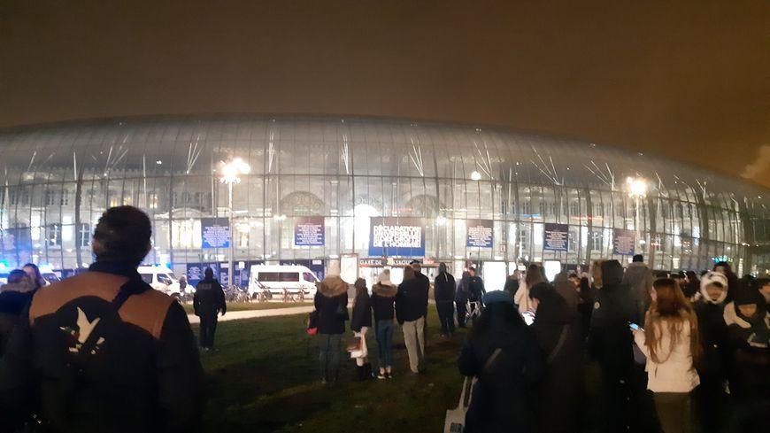 Évacuation de la gare de Strasbourg, jeudi 27 décembre