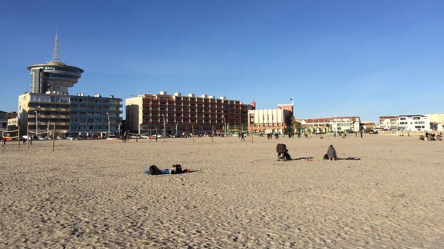 Noël fêté sur la plage à Palavas (Hérault) avec près de 15 degrés