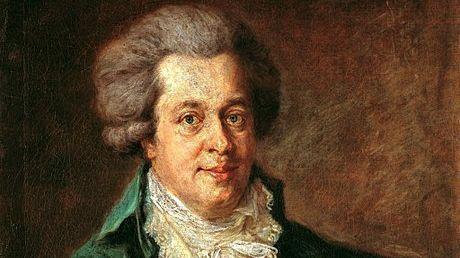 W.A. Mozart - dernier portrait de son vivant par Johann Georg Edlinger