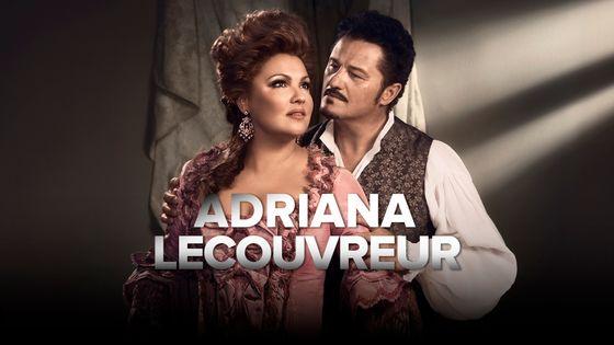 Anna Netrebko (Adriana Lecouvreur) et Piotr Beczała (Maurizio)
