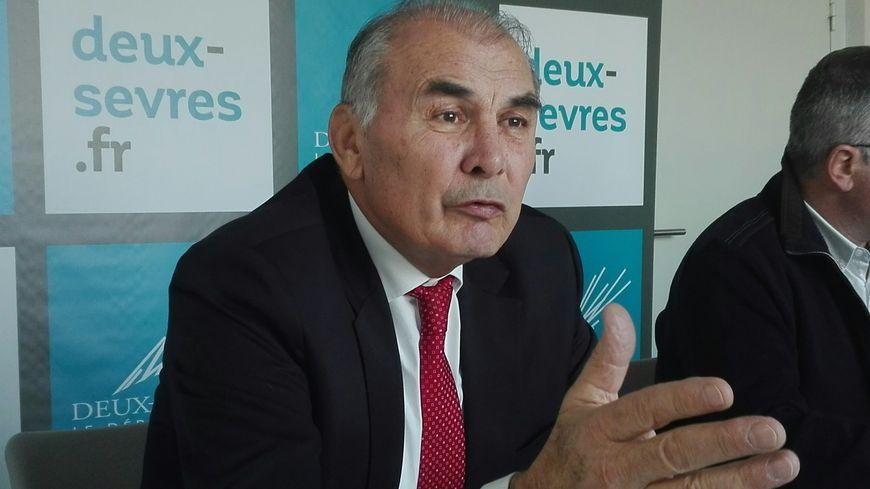 """Gilbert Favreau, président du conseil départemental des Deux-Sèvres, a annoncé cette """"bonne nouvelle"""" ce mardi"""