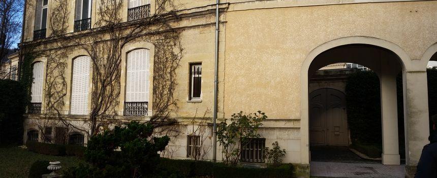 La rue Mansuy est devenue un jardin après guerre