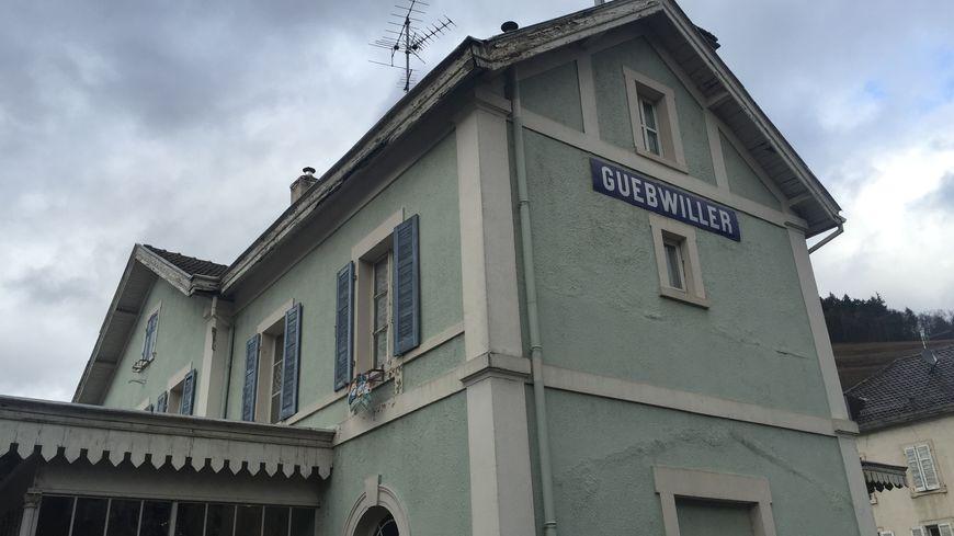À Guebwiller, la gare est en vente sur Le Bon Coin