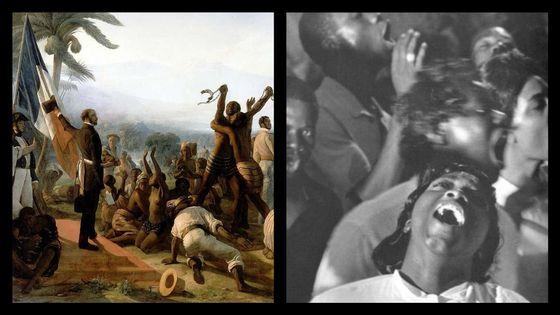 L'abolition de l'esclavage dans les colonies françaises en 1848 par et une chorale gospel