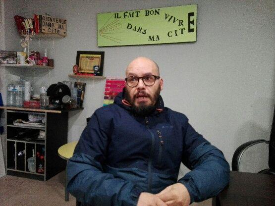 Mohamed Bensaada membre du Syndicat des Quartiers Populaires de Marseille