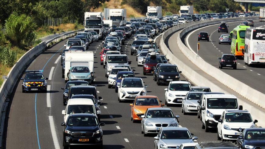 L'autoroute A9 est coupée dans les deux sens de circulation entre Sète et Béziers