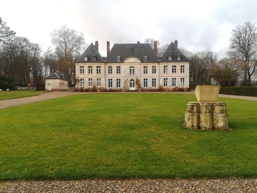 Le château familial du domaine de Tailly