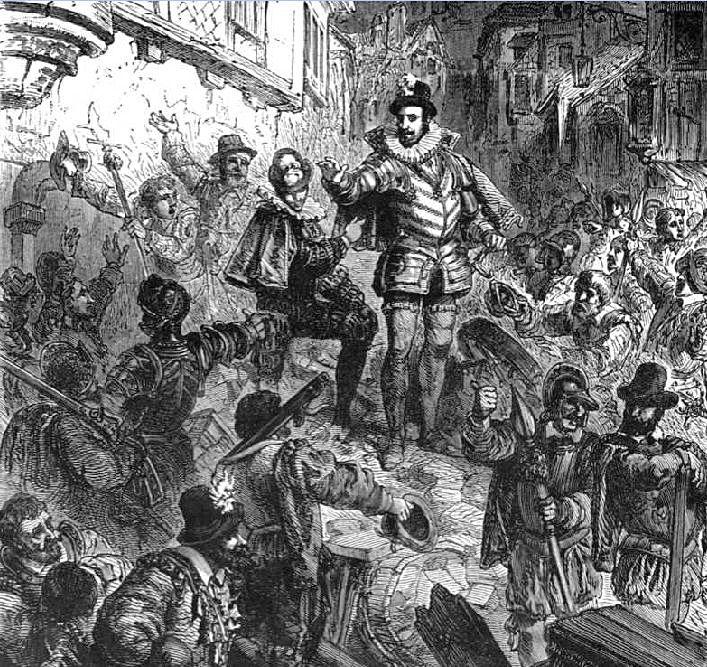 les barricades de 1588