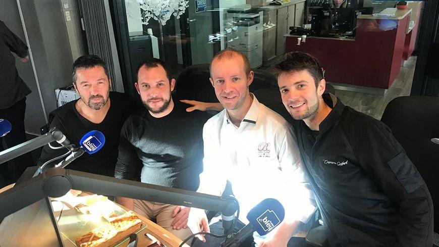 Christophe, julien, Thomas et Romain