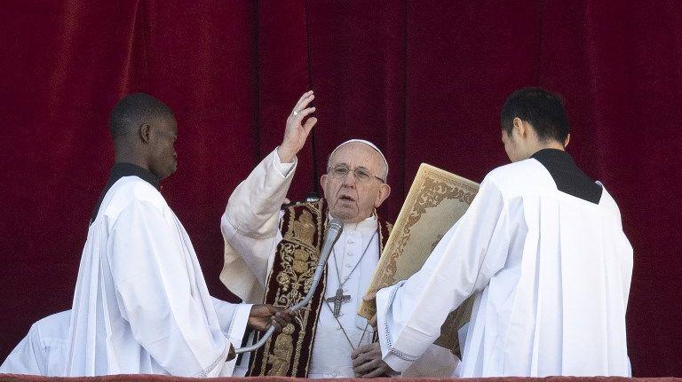 Le pape François s'est exprimé ce mardi 25 décembre au Vatican face à des dizaines de milliers de fidèles.