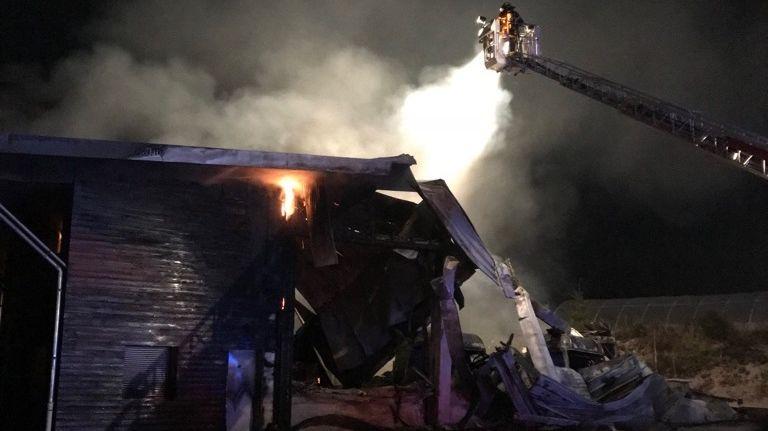 Trente-cinq pompiers de différents centres de la Corrèze sont intervenus
