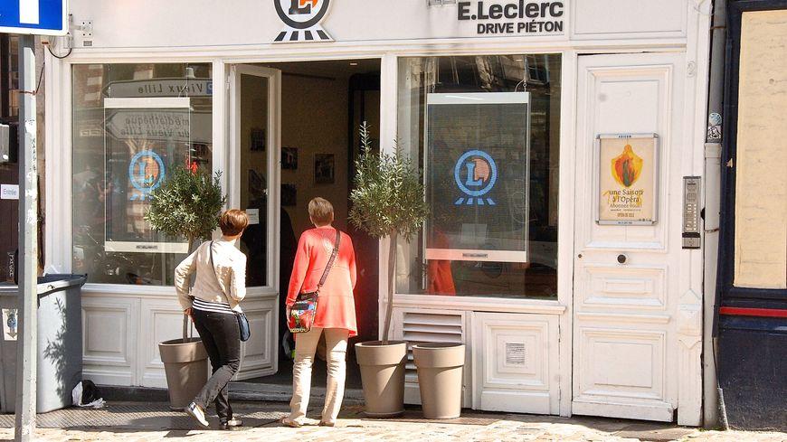 En août 2018, le drive piéton E.Leclerc a été installé à Lille