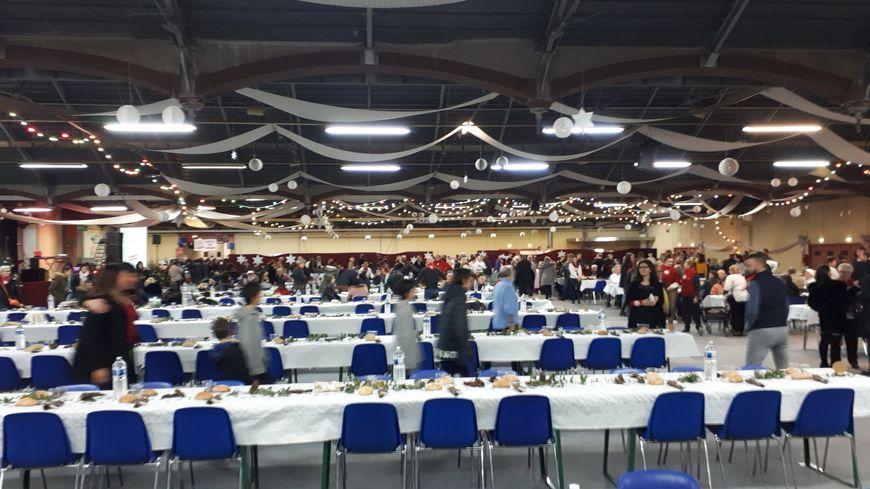 200 bénévoles sont mobilisés pour cette soirée au parc des expositions de Valence