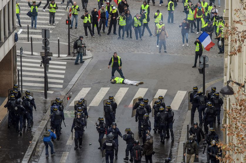 Manifestation des Gilets Jaunes à Paris, 8 décembre 2018