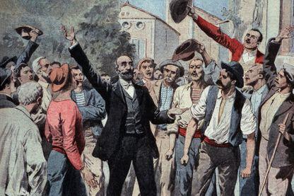 Marcelin Albert meneur de la révolte des vignerons du Midi en 1907