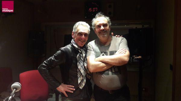 Serge Thomassian et Bruno Letort au studio 151