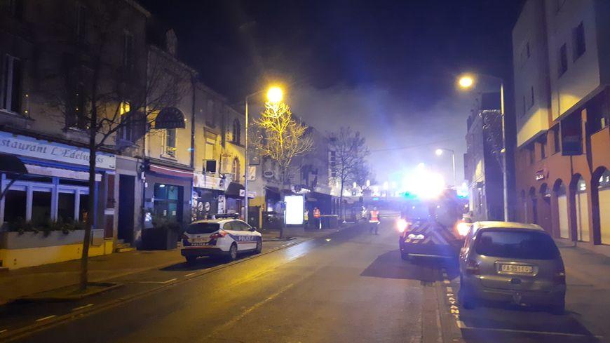 Incendie à l'hôtel du Chemin de Fer de Laval le 22 décembre 2018