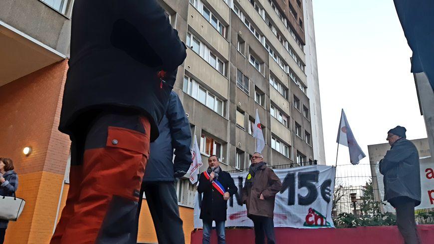 Mobilisation à Villejuif le 20.12.18