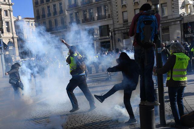 À Marseille, ça s'énerve en bas de la Canebière