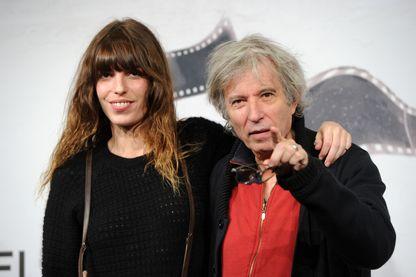 L'actrice Lou Doillon et le réalisateur Jacques Doillon le 15 novembre 2012 au 7ème Festival du film de Rome, en Italie.