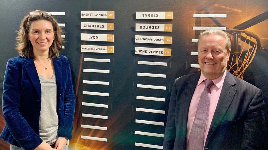 Stéphanie Pioger et Philippe Legname, vice présiden-e-s de la FFB