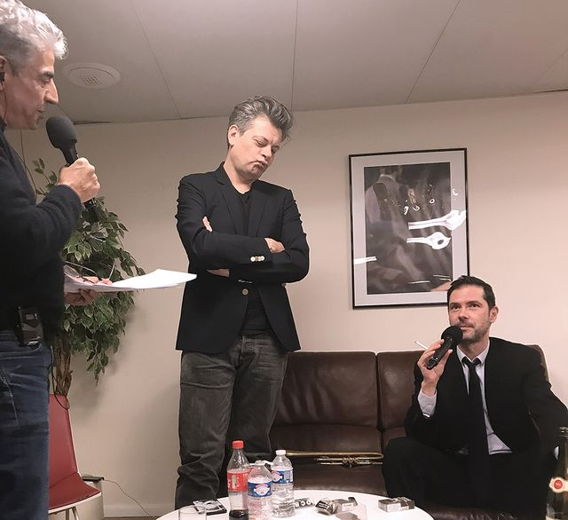 Didier Varrod, Benjamin Biolay et Melvil Poupaud