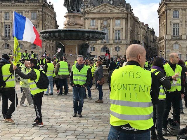 Quatrième samedi de mobilisation pour les Gilets jaunes bordelais avec un rendez-vous fixé place de la Bourse.