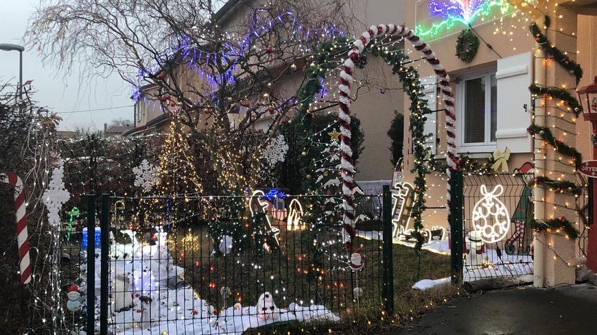 La maison est illuminée jusqu'au 15 janvier.