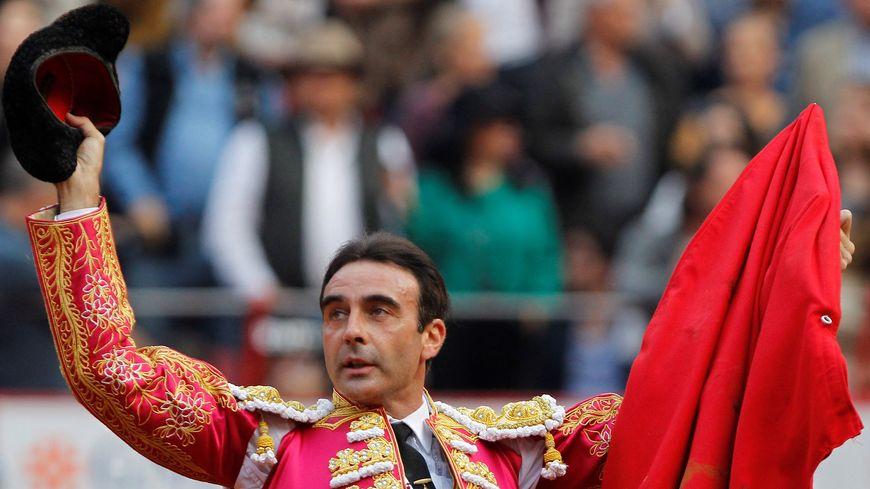 Enrique Ponce dans les arènes de Mexico le 11 novembre dernier