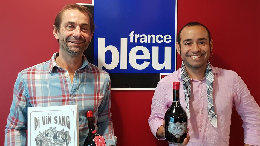 Olivier Cazenave et Mauro Ceballos invités de France Bleu Gironde