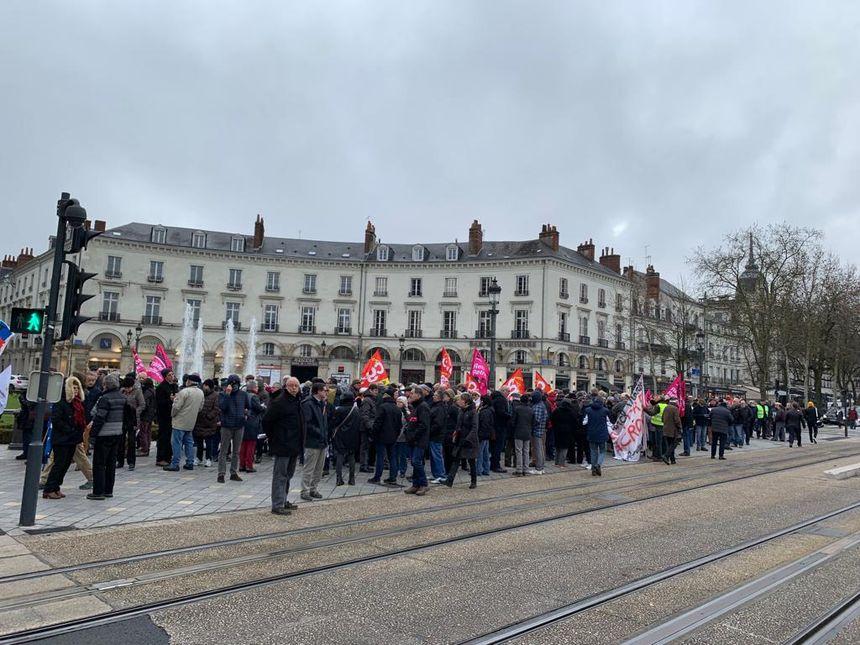 Rassemblement des retraités à 10h Place Jean Jaurès