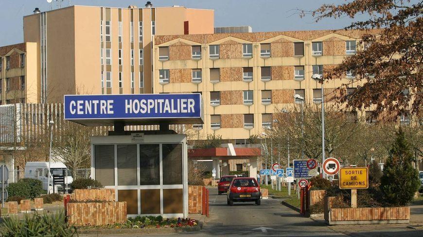 Illustration, hôpital de Dax dans les Landes.