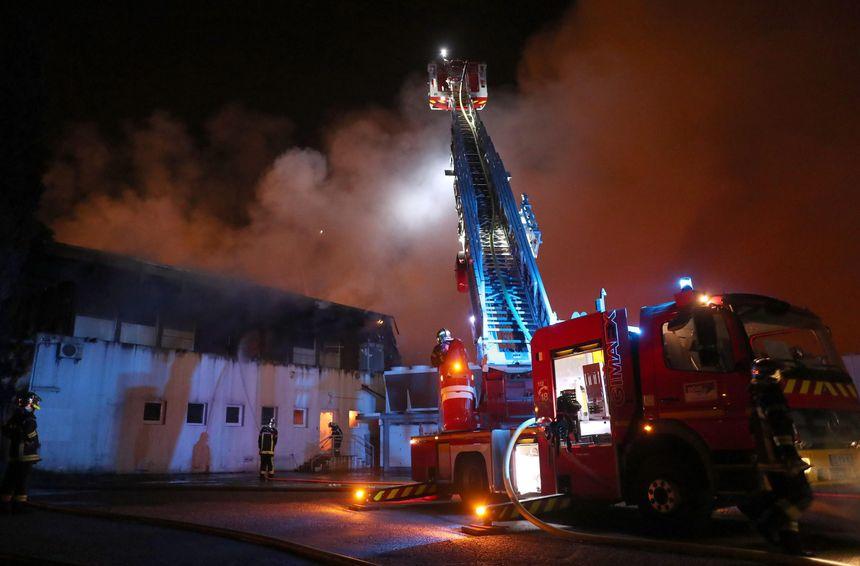 Le feu avait totalement détruit la Charcuterie bordelaise, en février 2017, à Villenave d'Ornon