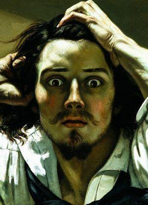 Le désespéré. Gustave Courbet