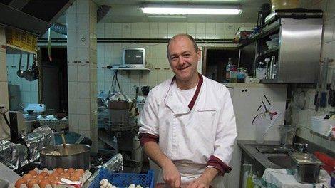 Christophe BEURIOT de la crêperie La Frégate du FAOU.