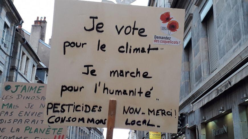 Une marche pour le climat est prévue ce dimanche à Tours. (Illustration)