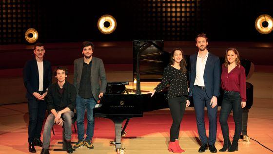 """Les six nommés dans la catégorie """"Révélations"""" des Victoires de la Musique Classique 2019"""