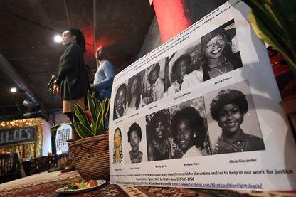 """Cérémonie à la mémoire des victimes de """"Grim Sleeper"""" à Los Angeles, le 8 décembre 2018."""