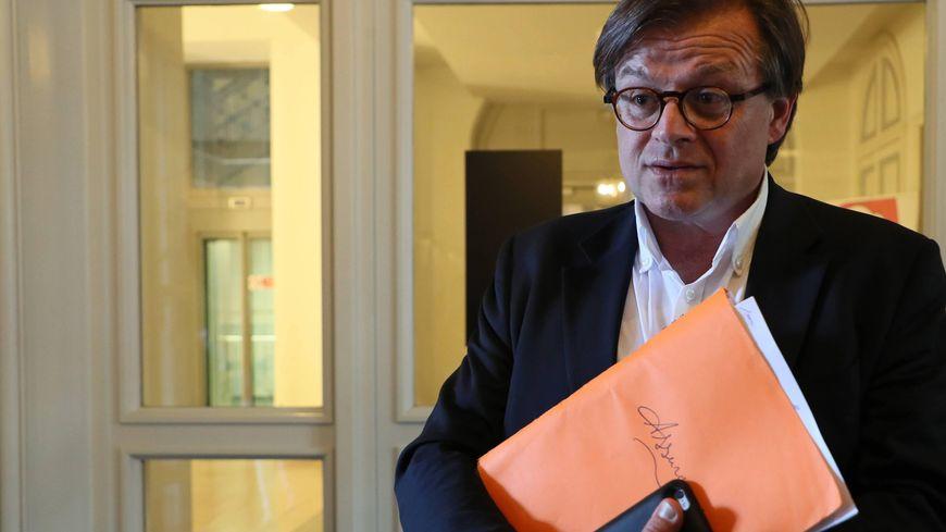 Arnaud Chedhomme, l'ex-gérant de la Charcuterie bordelaise, à Villenave d'Ornon