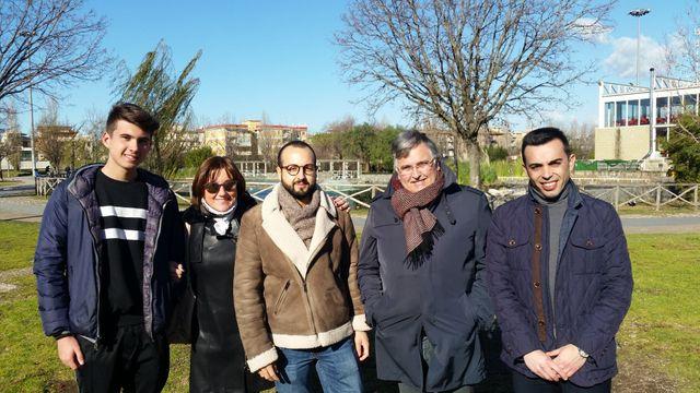 L'équipe du Mouvement 5 étoiles de Pomigliano d'Arco