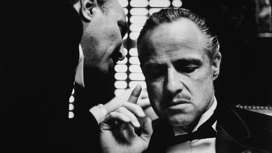 """Marlon Brando dans """"Le Parrain"""""""
