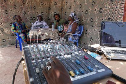 Studio Tamani au Mali avec la Fondation Hirondelle