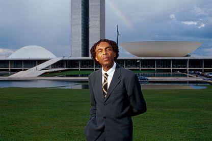 Gilberto Gil, ministre de la culture du Brésil en janvier 2003