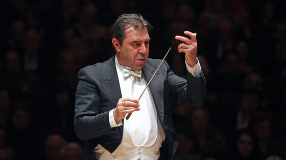 Le chef d'orchestre italien Daniele Gatti en mars 2015
