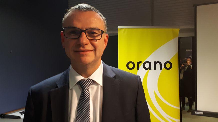 Pascal Aubret le directeur du site Orano-La Hague