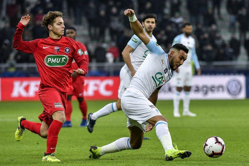 La rencontre Andrézieux-Bouthéon / Olympique de Marseille, en 32e de finale, dimanche 6 janvier 2019