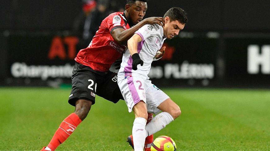 Mathieu Cafaro buteur et grand artisan de la victoire rémoise chez le dernier de Ligue 1